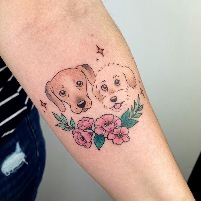 tatuaje perritos
