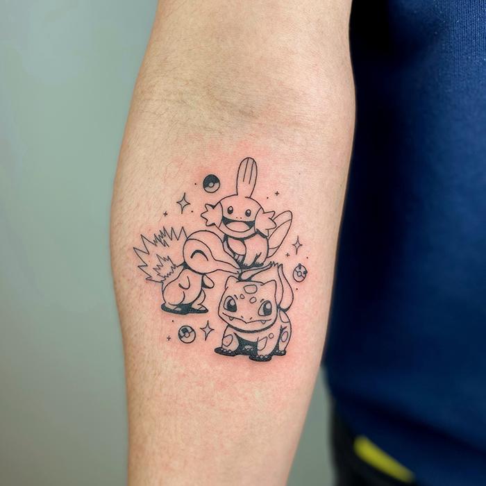 tatuaje team pokemon